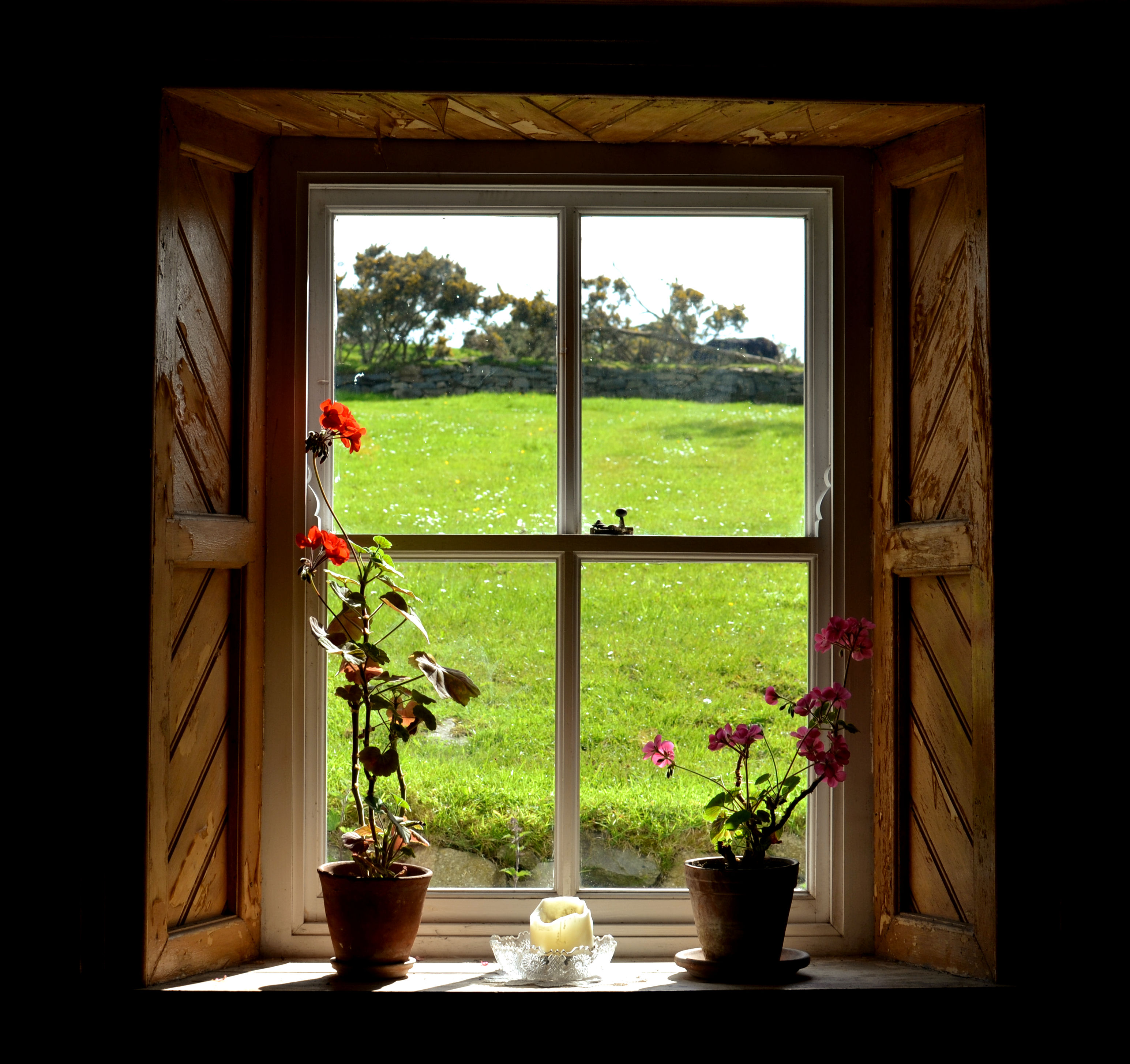 e48a1837dc49 Composure through the window … – Photo s by David Roulston